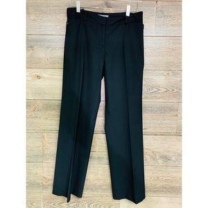ANN TAYLOR Petite Trouser Pants curvy fit black 6P